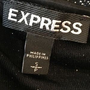 Express Tops - [Express] Shimmer Spaghetti Strap Tank